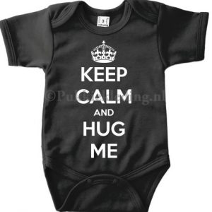 Romper 'KEEP CALM AND HUG ME'