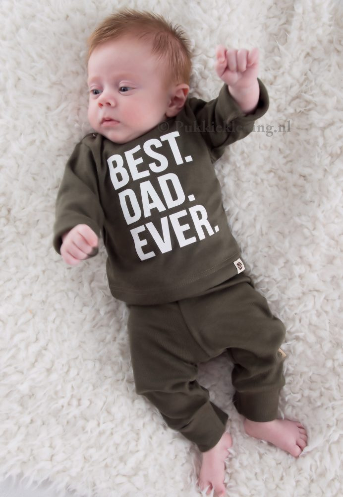 Tweedelige set 'Best Dad Ever'