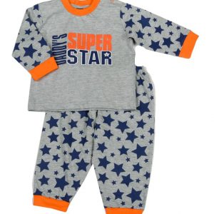 Tweedelige pyjama 'daddy's super star'