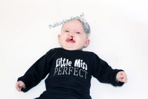 Tweedelige set 'Little Miss Perfect'