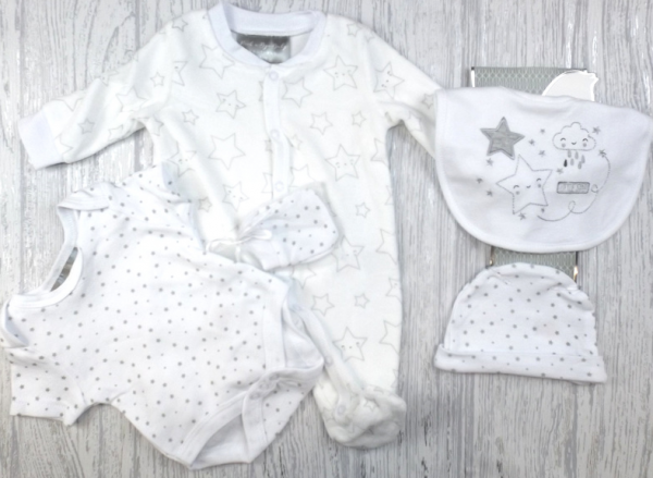 Vijfdelige unisex set 'little star'