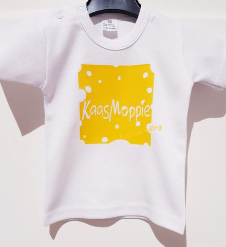 Shirt 'Kaasmoppie' in cheese