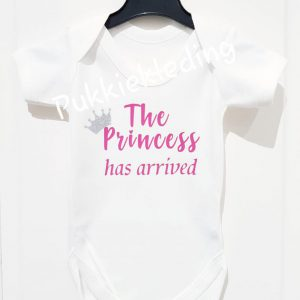 Romper 'The Princess has arrived'