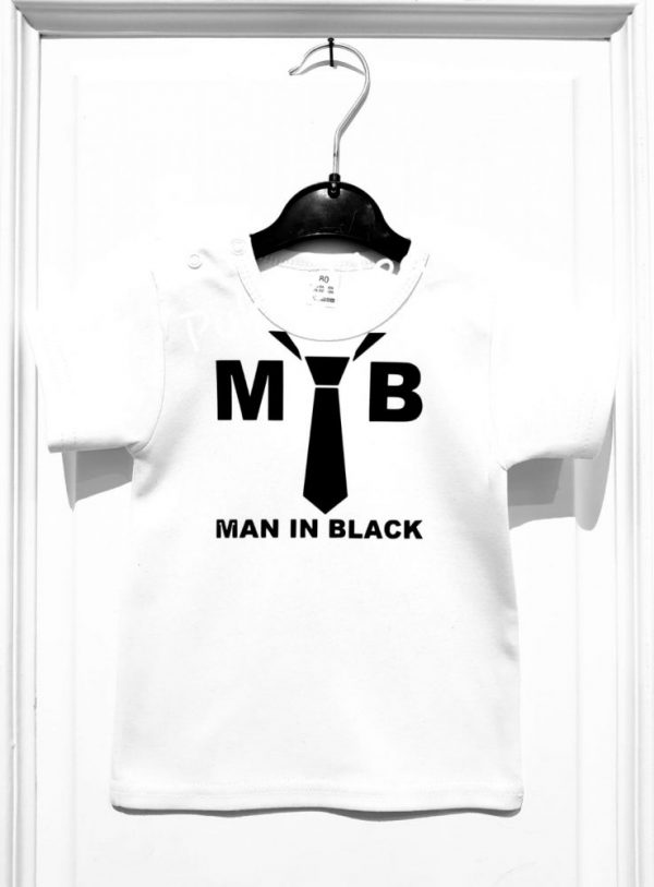 Shirtje 'Man in Black'