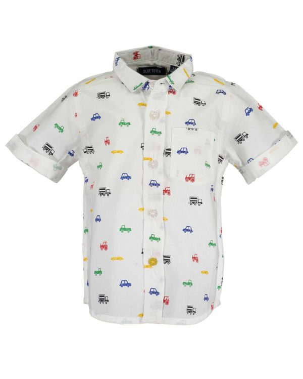 Blouse 'cars' korte mouw