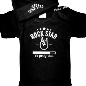 Romper 'Rock Star in Progress'