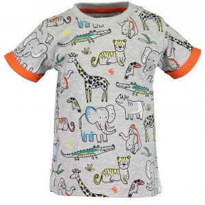 Shirt 'Animal' by Blue Seven