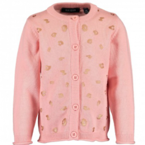 Vestje in de kleur 'Flamingo' by Blue Seven