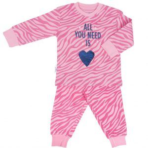 Pyjama blauw hart by Frogs and Dogs