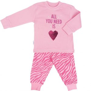 Pyjama roze hart by Frogs and Dogs
