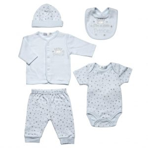 5-delige Newborn set Little Prince