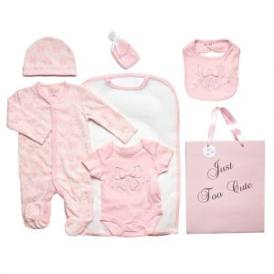 5-delige Newborn set strikjes